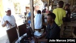 Congoleses no mercado de Benguela. Angola