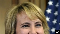 US Representative Gabrielle Giffords (file photo)