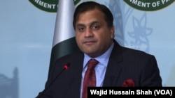 پاکستان کی وزارتِ خارجہ کے ترجمان محمد فیصل (فائل فوٹو)