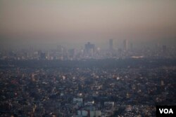 FILE – Mexico City has been deemed among the most polluted cities in the world.