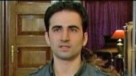 امیر حکمتی، شهروند آمریکایی ایران تبار که در ایران در حبس به سر می برد.