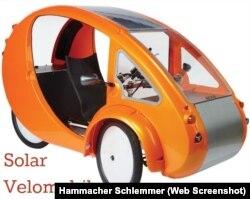 Solar Velomobile