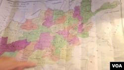Bản đồ chính trị của Afghanistan