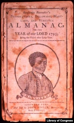 A portrait of Benjamin Banneker that appears on the cover of his Almanac, 1795. Courtesy of the Maryland Historical Society, Baltimore.
