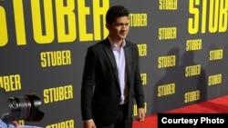 """Iko Uwais saat menghadiri pemutaran perdana film """"Stuber"""" di Los Angeles 10 Juli 2019 (dok: Instagram/@iko_uwais)"""
