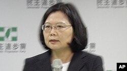 民进党领导人 蔡英文