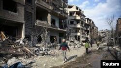 ဆီးရီးယား Ghouta အပစ္ရပ္ေရး လံုၿခံဳေရးေကာင္စီ မဲမခြဲႏိုင္ေသး