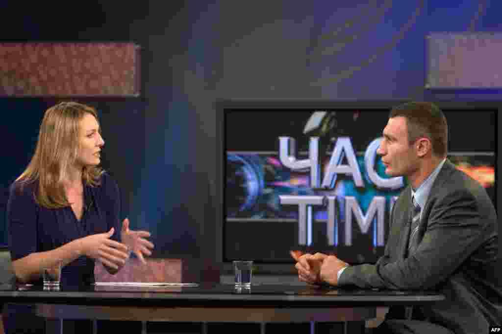 Разговор в программе «Час-Time» с ведущей Мирославой Гонгадзе