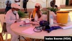 Profissionais de saúde em Malanje, Angola