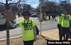 Voter registration teams were out in force during the #March4OurLives across the U.S.