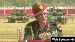 بھارتی فوج کے سربراہ جنرل بپن راوت