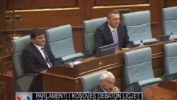 Parlamenti i Kosovës debaton ligje