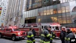 """Trump Tower u New Yorku - Požar je definisan kao """"mala vatra uzrokovana električnim instalacijama"""""""