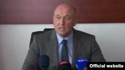 Crnogorski ministar rada i socijalnog staranja Boris Marić (rtcg.me)