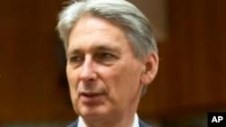 英国外交大臣哈蒙德