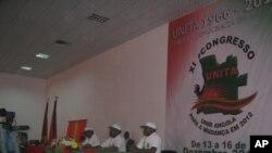 O XI Congresso da UNITA (Foto de Arquivo)