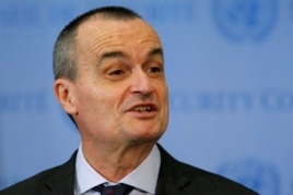 French ambassador to the United Nations Gerard Araud at the U.N. headquarters in New York, April 10, 2014.
