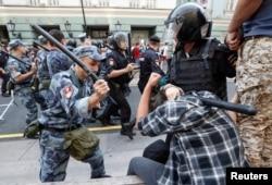 Protesti u Rusiji, Foto: Oleg Sulkin