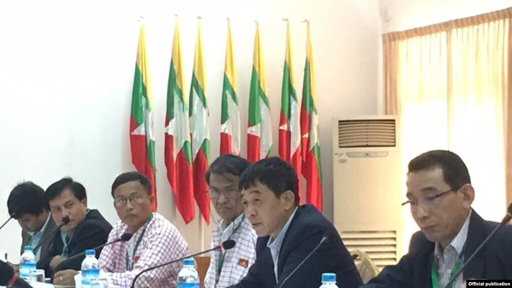 UNFC တုိင္းရင္းသားလက္နက္ကိုင္အဖြဲ႔ေတြနဲ႔ NRPC တို႔ ရန္ကုန္ၿမဳိ႕မွာ ေတြ႔ဆုံစဥ္က (၂၀၁၆)