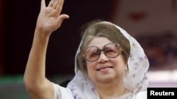 孟加拉國前總理卡莉達·齊亞(2014年資料照)