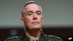 ژنرال جوزف دانفورد، رئیس ستاد مشترک ارتش آمریکا،