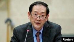 한대성 주제네바 북한대표부 대사.
