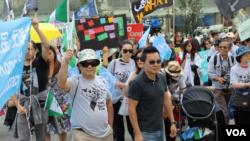 星期六,纽约守护台湾自由组织主办的台湾参与联合国、支持香港抗议运动集会在曼哈顿阿斯特广场(Astor Place)举行。(久岛拍摄)