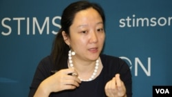 Yun Sun is the East Asia Program co-Director at the Stimson Center. (Say Mony/VOA Khmer)