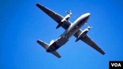 უკრაინული AN-26 ახალციხის ცაში