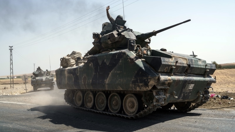US Allies Exchange Fire as Tensions Rise in Northern Syria