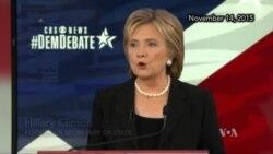 Democratic Presidential Contenders Discuss Paris Attacks