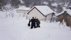 Успешно евакуиран единствениот жител на струшкото село Буринец