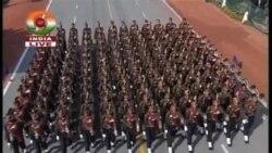 印度共和國 63 週年舉行盛大閱兵