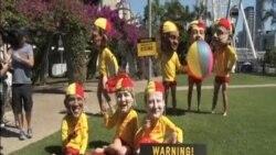 G20峰會前夕澳抗議者要求關注氣候變化與貧富差距