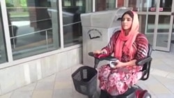 Polio-affected Afghan Student Fulfilling Her Dreams in America