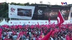 Binler 15 Temmuz Şehitler Köprüsü'nde Toplandı