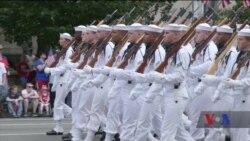 Парад у Вашингтоні до Дня незалежності США. Відео