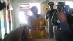 Auxillia Mnangagwa At Chikurubi Maximum Prison