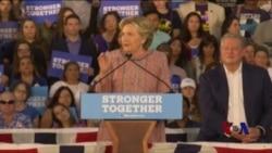 克林顿扩大民意优势 川普为冒犯女性言论道歉