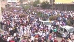 Cizre'de Ölenler İçin Toplu Cenaze Töreni Düzenlendi