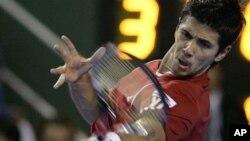 Petenis Spanyol, Fernando Verdasco, yang diunggulkan di Turnamen Kroasia Terbuka.