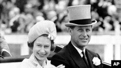 Çifti mbretëror i Britanisë në qershor 1957