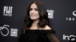 """Salma Hayek describió en un artículo de opinión en el New York Times las presiones a las que fue sometida por Harvey Weinstein durante la producción de la cinta biográfica, """"Frida"""" de 2002."""