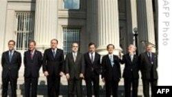 وزیران دارائی هفت کشور در باره آثار ضعف دلار بحث می کنند