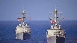 رزمایش دریایی آمریکا و ویتنام