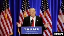 美國共和黨總統參選人川普。