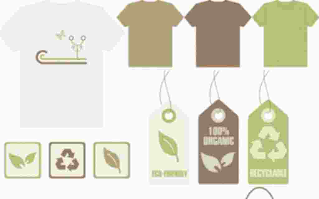 Recycle theme apparel and accessories