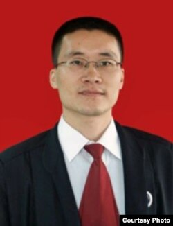 中國廣州維權法律工作者唐荊陵