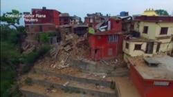 Destrucción en Nepal