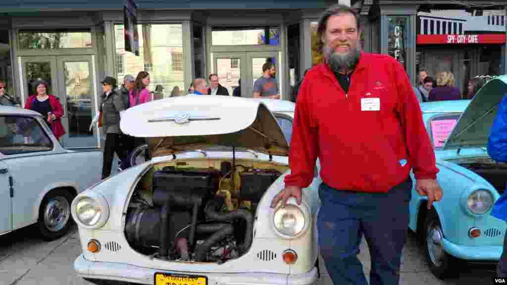 Майк Аннен, механик и коллекционер: «Вы просто влюбляетесь в них»